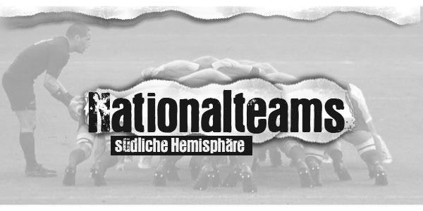 Nationalteams südliche Hemisphäre