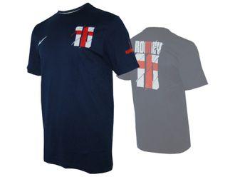 Nike England Hero #10 Rooney Tee