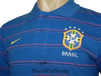 Nike Brasilien Purple Poloshirt – Bild 5