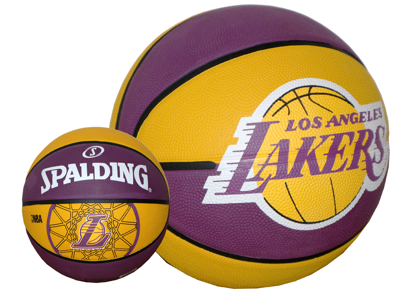 Nba Basketball Los Angeles Lakers: Spalding Fan Basketball L.A.LAKERS SIZE 7 Los Angeles Nba
