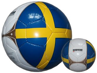 Derbystar Schweden Fußball Länder-Fanball