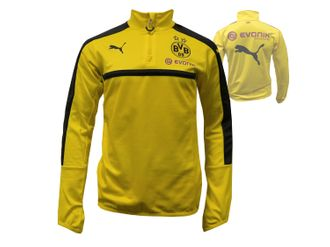 Puma BVB 09 1/4 Zip Training-Top with Sponsor