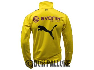 Puma BVB 09 1/4 Zip Training-Top with Sponsor – Bild 4