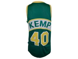 adidas Seattle Supersonics #40 Shawn Kemp Basektball Shirt – Bild 3