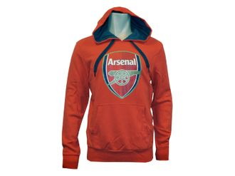 Puma Arsenal London Badge Hoody Kapuzen-Sweatshirt – Bild 3