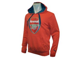 Puma Arsenal London Badge Hoody Kapuzen-Sweatshirt – Bild 2