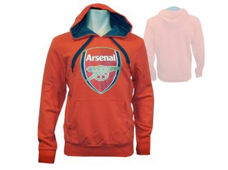 Puma Arsenal London Badge Hoody Kapuzen-Sweatshirt – Bild 1