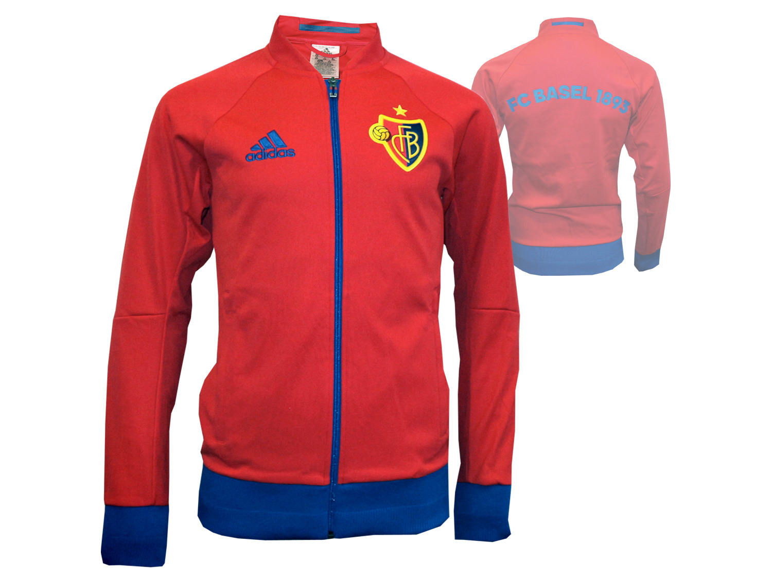 adidas FC Basel Anthem Jacket