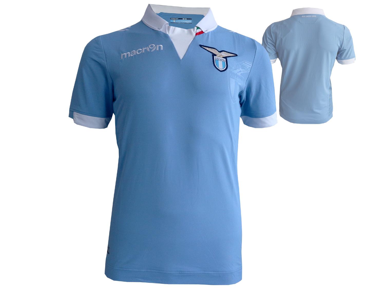 Macron Lazio Rom Home Fußball Jersey