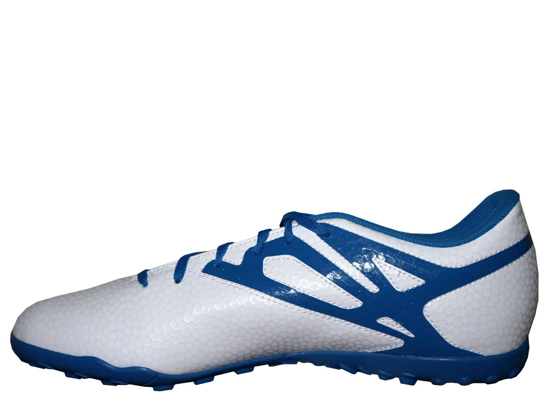 Dettagli su Adidas Scarpe da Calcio Bianco Messi 15.4 Tf Tacchetti Calcio Scarpe Gr.39 45