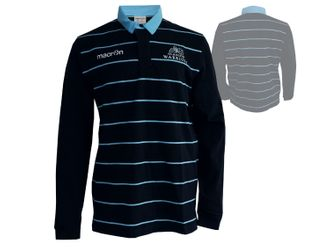 Macron Glasgow Warriors Home Replica Cotton Shirt