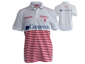 Macron Biarritz Olympique Rugby Jersey – Bild 1