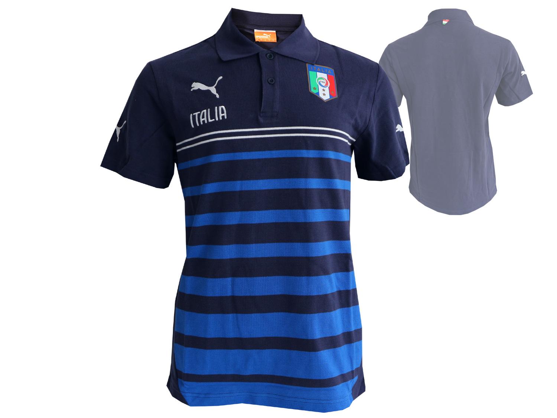 Puma Italien Poloshirt FIGC Hooped Polo
