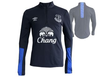 Umbro FC Everton Fußball Training Half Zip Top