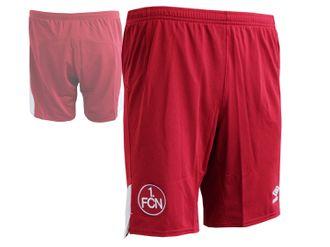Umbro 1.FC Nürnberg Away Fußball Short rot – Bild 1