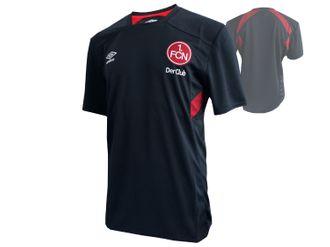 Umbro 1.FC Nürnberg Training Jersey Kinder schwarz – Bild 1