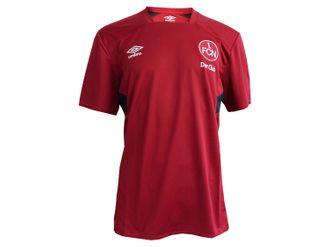Umbro 1.FC Nürnberg Training Jersey Kinder rot – Bild 3
