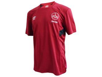 Umbro 1.FC Nürnberg Training Jersey Kinder rot – Bild 2