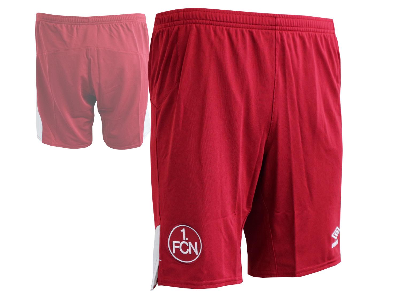 Umbro 1.FC Nürnberg A Kinder Fußball Short rot