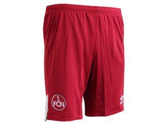 Umbro 1.FC Nürnberg A Kinder Fußball Short rot – Bild 2
