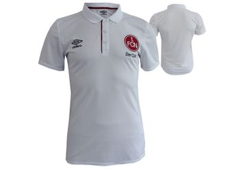 Umbro 1.FC Nürnberg Training Poly Polo Jersey – Bild 1