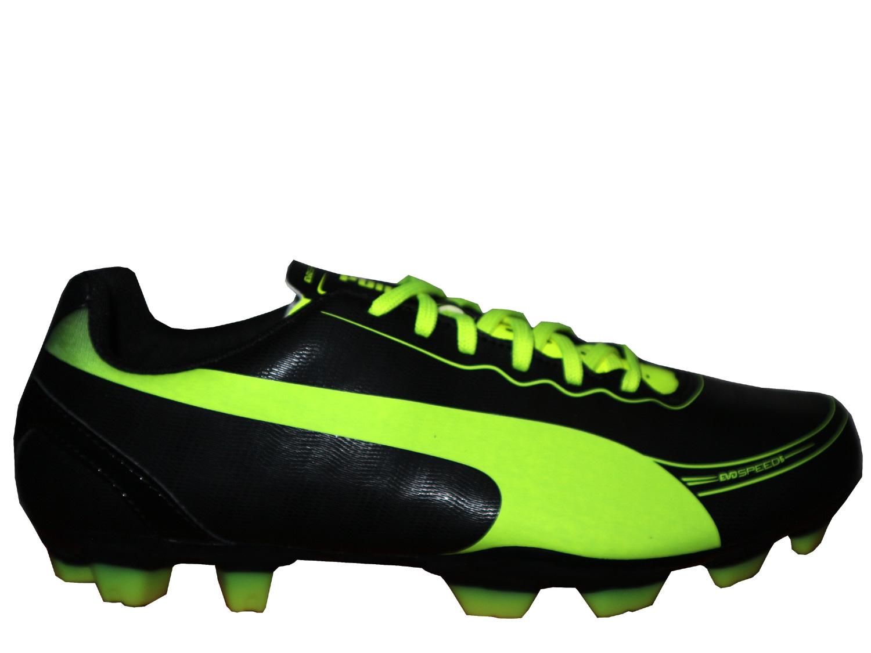chaussures crampons foot puma evospeed
