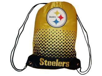 Pittsburgh Steelers Fan Gymbag NFL Turnbeutel – Bild 1