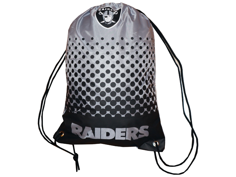 Oakland Raiders Fan Gymbag NFL Turnbeutel