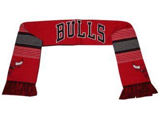 Chicago Bulls Fan Schal NBA Strickschal