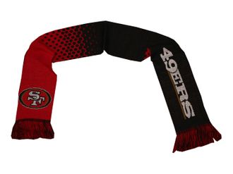 San Francisco 49ers Fan Schal NFL Strickschal