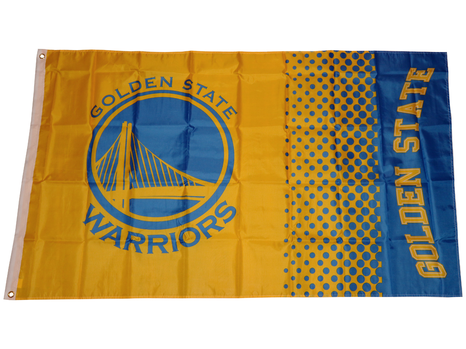 Golden State Warriors Fahne NBA Fade Flag