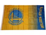 Golden State Warriors Fahne NBA Fade Flag 001