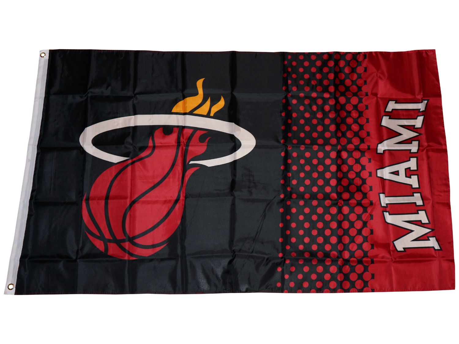 Miami Heat Fahne NBA Fade Flag