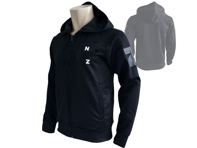 adidas All Blacks Kapuzenjacke schwarz Rugby Hoody Sweatshirt Neuseeland XS-3XL