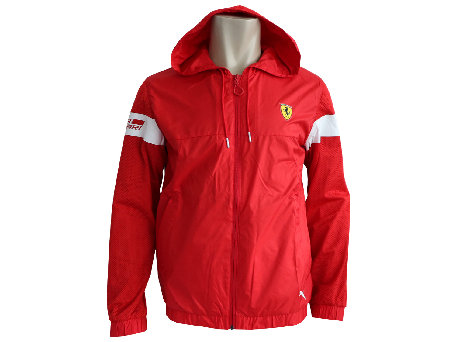 puma scuderia ferrari lightweight jacke rot formel 1. Black Bedroom Furniture Sets. Home Design Ideas