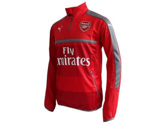 Puma Arsenal London Training Shirt 1/4 Zip with Sponsor – Bild 3