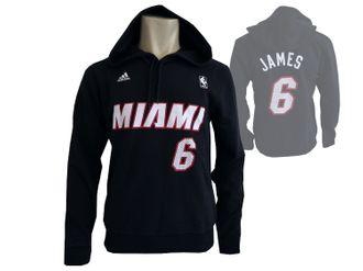 adidas NBA Miami Heat Gametime Player Hoody