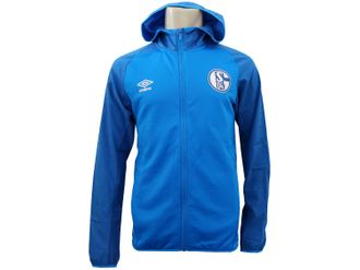 Umbro FC Schalke 04 Jacke mit Kapuze – Bild 3