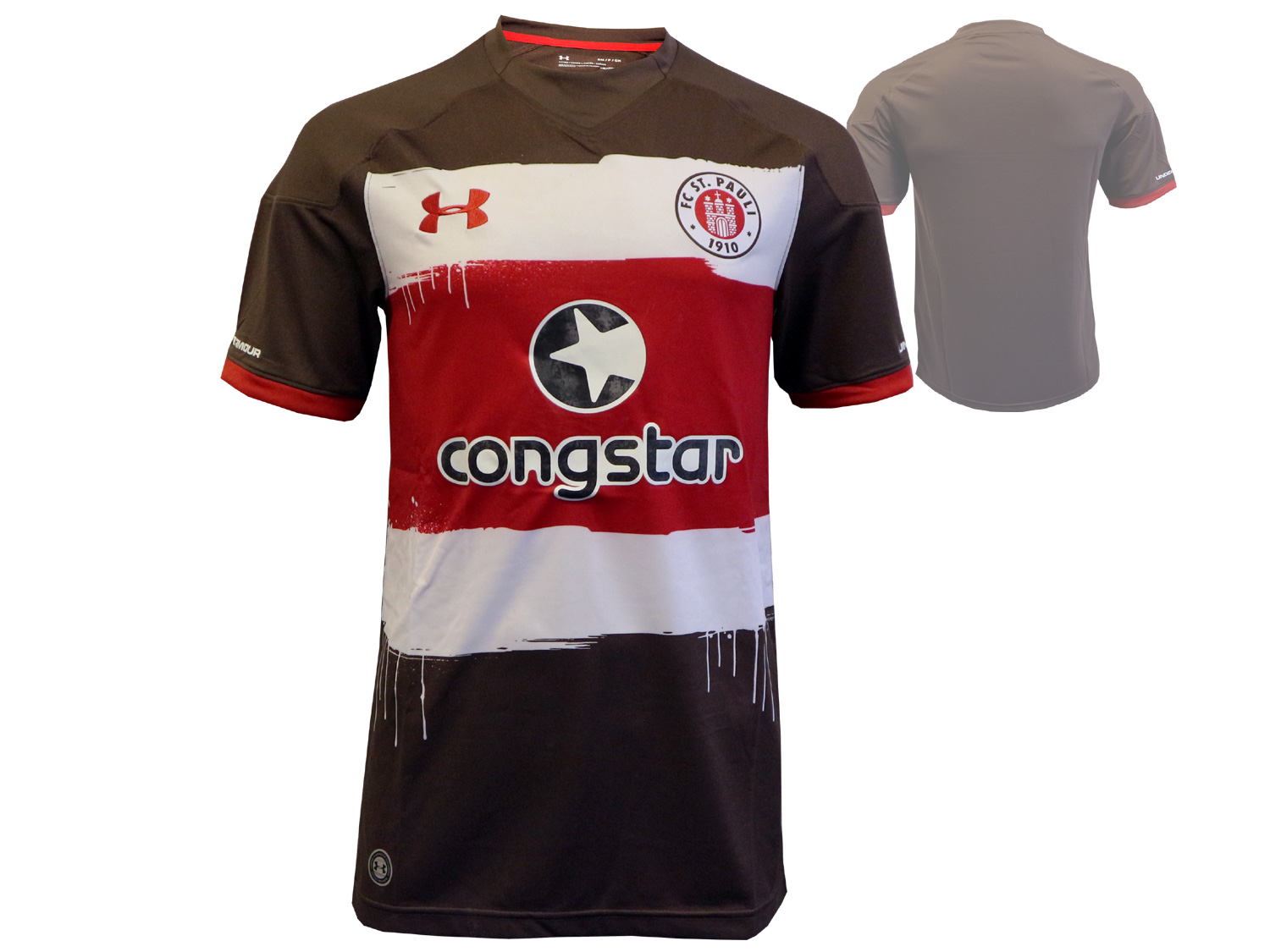 Under Armour FC St.Pauli Home Jersey 17/18