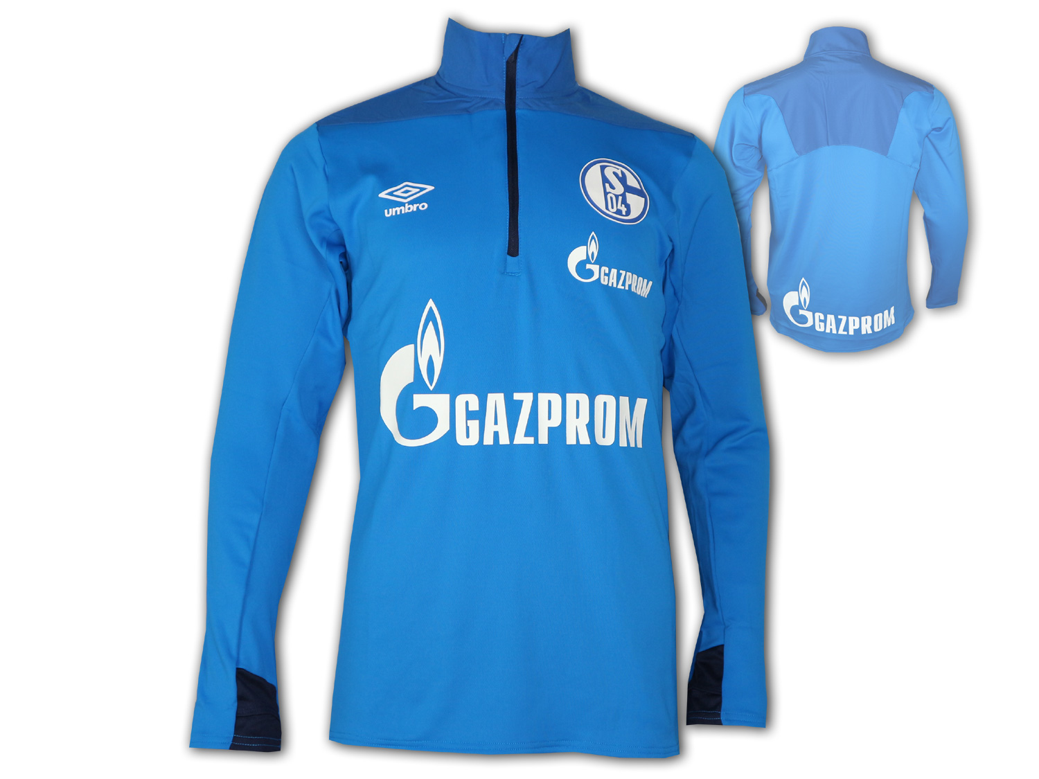 Umbro FC Schalke 04 Half Zip Training Top