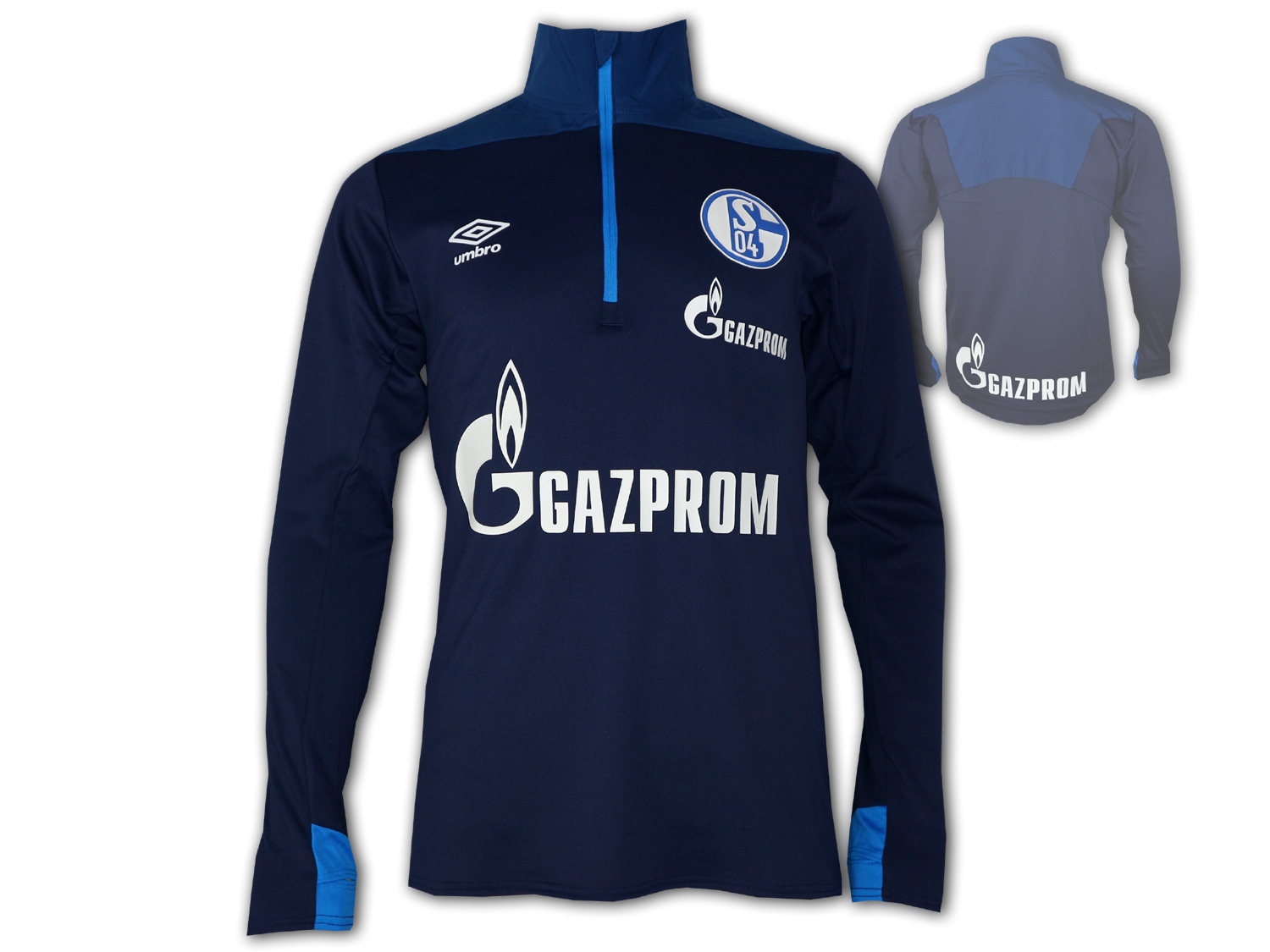 Umbro FC Schalke 04 Training Top Half Zip