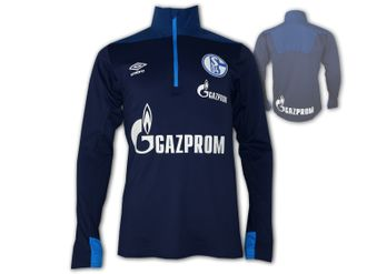 Umbro FC Schalke 04 Training Top Half Zip – Bild 1