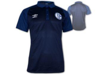 Umbro FC Schalke 04 Poly Poloshirt – Bild 1