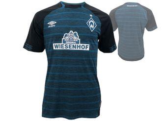 Umbro SV Werder Bremen Away Kinder Jersey 2018/19 – Bild 1