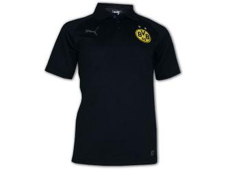 Puma BVB 09 Casual Polo-Shirt – Bild 3