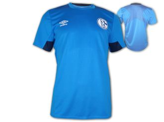 Umbro FC Schalke 04 Training Shirt 2018/19 – Bild 1
