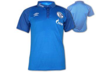 Umbro FC Schalke 04 Polo Jersey – Bild 1