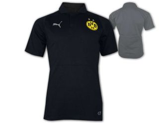Puma BVB 09 Casual Polo Jersey