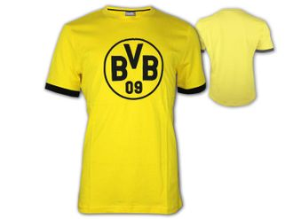 Puma BVB 09 Badge T-Shirt – Bild 1