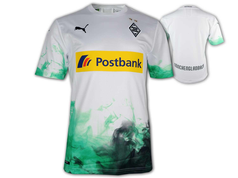XXL S Puma Borussia Mönchengladbach Home Short weiß BMG Hose mit Innenslip Gr
